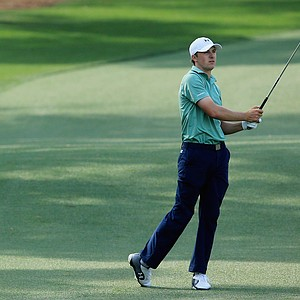 Jordan Spieth during Sunday's final round of the 2014 Masters at Augusta National.