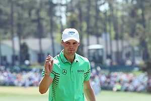 Martin Kaymer in Hugo Boss