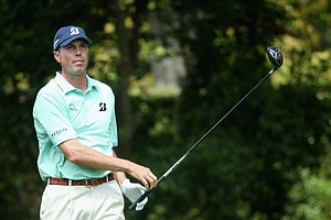 Matt Kuchar during Sunday's final round of the 2014 Masters at Augusta National.
