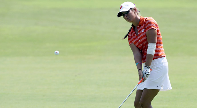 Clemson's Ashlan Ramsey is ready for the next step in her golf career. The freshman will not return to school in the fall, instead opting to turn professional after the Curtis Cup in June.