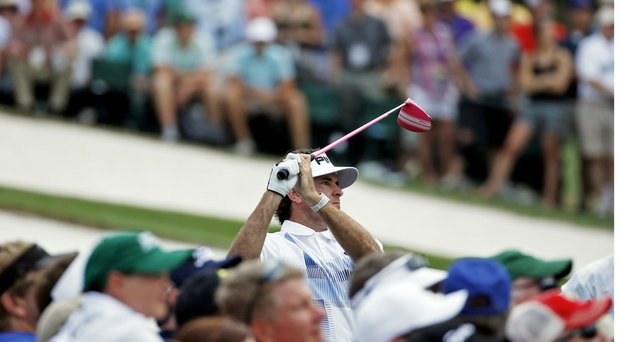 Bubba Watson's win in the 2014 Masters came amid lower television ratings on CBS and ESPN.