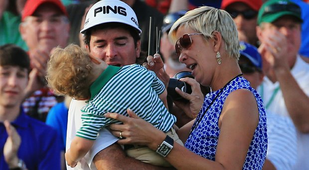 With his 2-year-old son, Caleb, and wife, Angie, providing a new perspective, Bubba Watson has shown growth on and off the course.