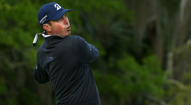 Matt Kuchar fired a bogey-free, 5-under 66 to hold a share of the 18-hole lead at the RBC Heritage.