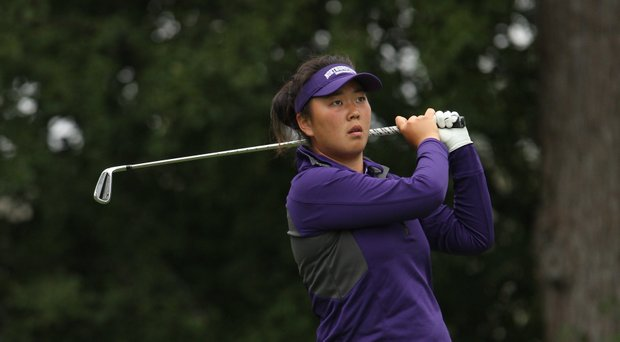 Northwestern junior Hana Lee gained confidence with a medalist showing at the Liz Murphey Collegiate Classic.