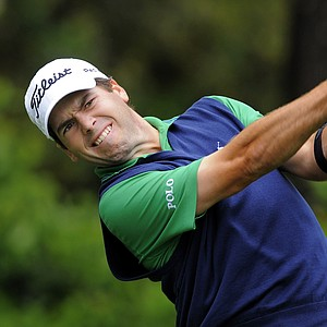 Ben Martin during the third day of play at the PGA Tour's 2014 RBC Heritage at Harbour Town Golf Links in Hilton Head Island, S.C.