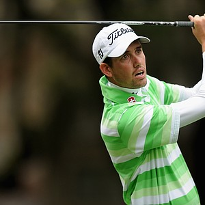 Chesson Hadley during the third day of play at the PGA Tour's 2014 RBC Heritage at Harbour Town Golf Links in Hilton Head Island, S.C.