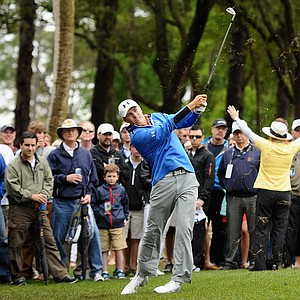 Jordan Spieth during the third day of play at the PGA Tour's 2014 RBC Heritage at Harbour Town Golf Links in Hilton Head Island, S.C.