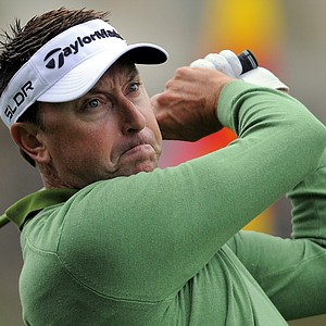 Robert Allenby during the third day of play at the PGA Tour's 2014 RBC Heritage at Harbour Town Golf Links in Hilton Head Island, S.C.