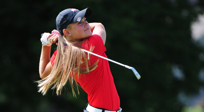 Ohio State seized its second win of the year, winning the Lady Buckeye Invitational at The Ohio State University Golf Club's Scarlet Course in Columbus.