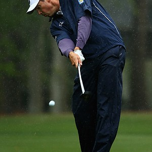 Matt Kuchar during Friday's second round of the 2014 RBC Heritage at Harbour Town Golf Links.