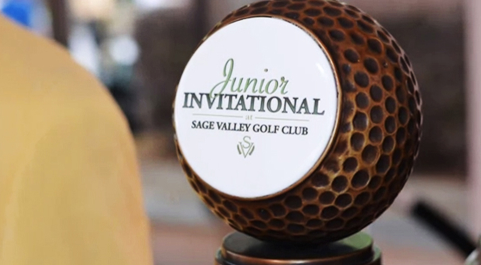 Many of the top junior players from around the world are set to being play on Thursday for the fourth annual Junior Invitational at Sage Valley. See complete tee times.