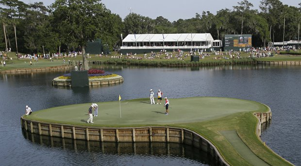 TPC Sawgrass' par-3 17th and its island green no longer will stage one-hole, sudden-death playoff outcomes in the Players Championship – a three-hole format begins in 2014.