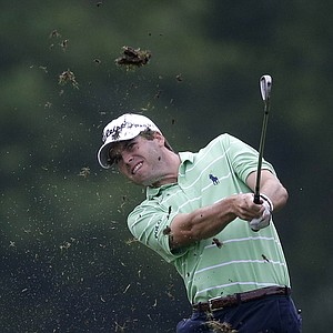 Ben Martin during Friday's second round of the PGA Tour's 2014 Zurich Classic of New Orleans.