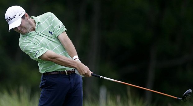 Ben Martin during the second round of the PGA Tour's 2014 Zurich Classic of New Orleans.