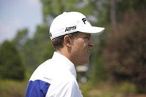 Cameron Champ during the second round of the Junior Invitational at Sage Valley Golf Club in Graniteville, S.C.
