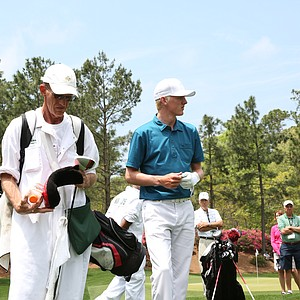 David Snyder during the second round of the Junior Invitational at Sage Valley Golf Club in Graniteville, S.C.