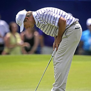 David Toms during Friday's second round of the PGA Tour's 2014 Zurich Classic of New Orleans.