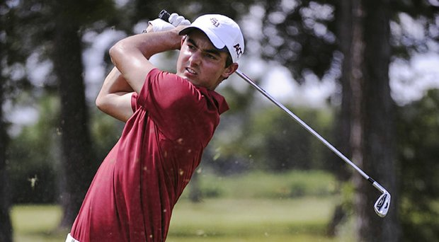 Hank Lebioda's 4-under 68 helped Florida State grab the lead at the ACC Championship.