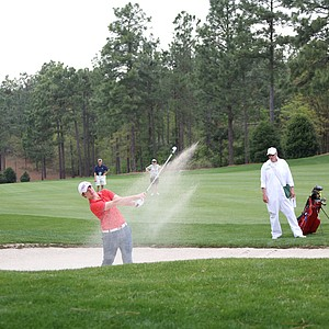 Sam Horsfield during the second round of the Junior Invitational at Sage Valley Golf Club in Graniteville, S.C.