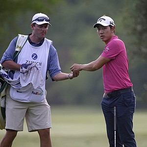 Sang-Moon Bae during Friday's second round of the PGA Tour's 2014 Zurich Classic of New Orleans.