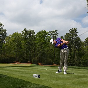 Theo Humphrey during the second round of the Junior Invitational at Sage Valley Golf Club in Graniteville, S.C.
