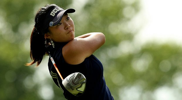 UCLA's Erynne Lee is currently T-1 at the Pac-12 Championship.