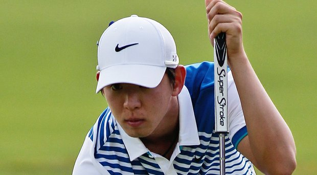 Seung Yul Noh during the PGA Tour's 2014 Zurich Classic of New Orleans.