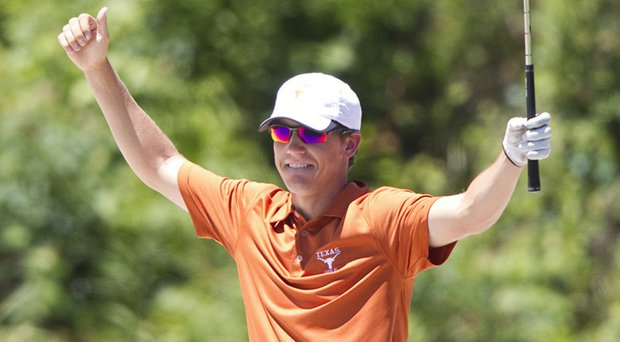 Kramer Hickok and the Texas Longhorns won back-to-back Big 12 Championships.