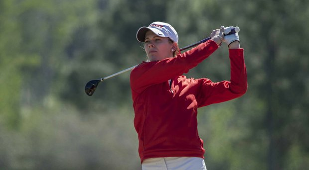 Detroit's Lindsey Lammers took medalist honors at the Horizon League Championship.