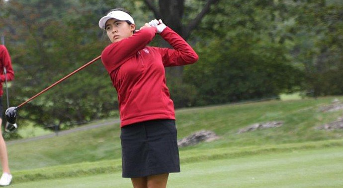 Tiffany Lim and the Harvard women's golf team won the 2014 Ivy League Championship.