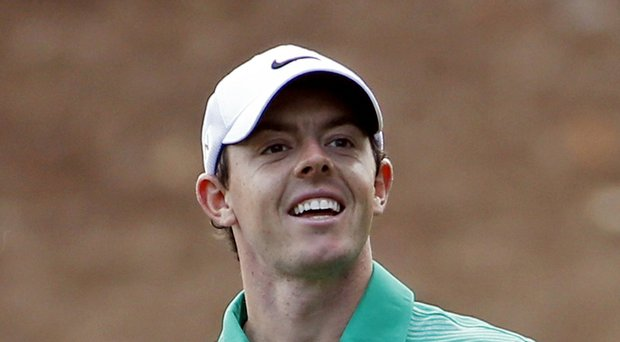 Rory McIlroy's prospects are looking up for the PGA Tour's 2014 Wells Fargo Championship (shown here during the Masters).