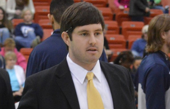 John Redman, assistant basketball coach at Dalton State and son of former LPGA player Susie Kirk, was involved in an April 2014 auto accident that seriously injured him and took the life of his fiancee, Brittany Huber.