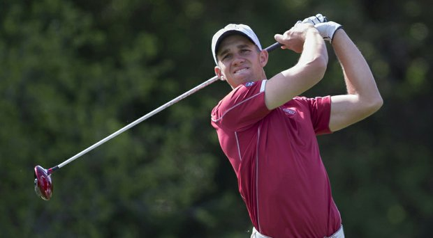 Stanford's Patrick Rodgers is just one victory away from tying Tiger Woods' school record of 11 collegiate victories.