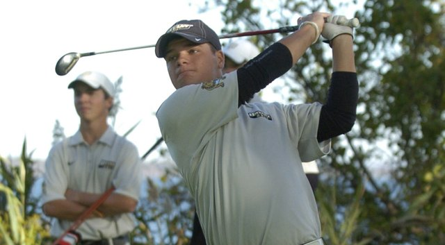 Kyle Buschmann and the Bryant Bulldogs won the Northeast Conference Sunday.