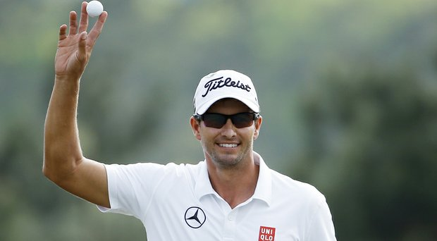 Adam Scott won The Players 10 years ago (shown here during the 2014 Masters).