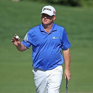 J.B. Holmes during the third round of the 2014 Wells Fargo Championship.