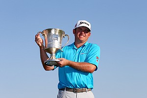 J.B. Holmes won the 2014 Wells Fargo Championship on Sunday, May 4.