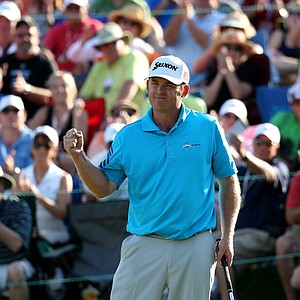 J.B. Holmes during the final round of the 2014 Wells Fargo Championship.