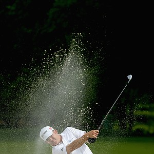 J.B. Holmes during the first round of the 2014 Wells Fargo Championship.