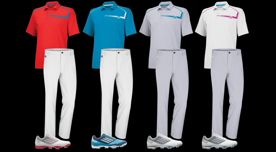 Sergio Garcia's scripted apparel for The Players Championship.