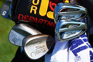Rookie John Peterson plays Titleist 714 AP2 irons and Vokey Design wedges, spotted at TPC Sawgrass during the PGA Tour's 2014 Players Championship in Ponte Vedra Beach, Fla.