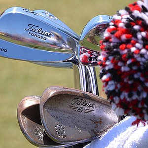 Adam Scott is playing Titleist 680 irons.