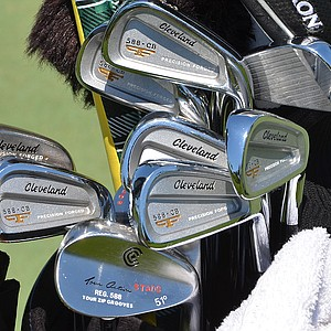 Kevin Stadler won the Waste Management Phoenix Open with these Cleveland Forged 588 CB irons.