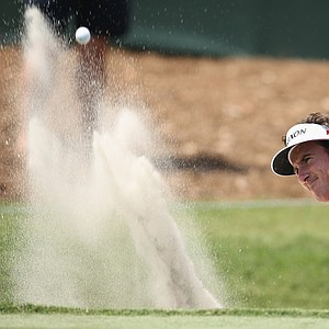 Gonzalo Fernandez-Castano during the 2014 Players Championship at TPC Sawgrass.