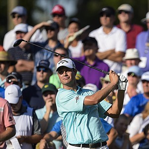 Harris English during the 2014 Players Championship at TPC Sawgrass.