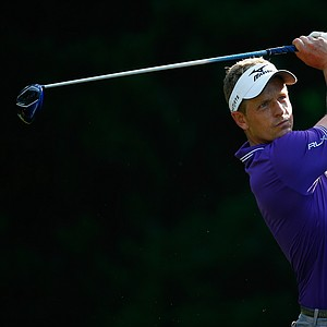 Luke Donald during the 2014 Players Championship at TPC Sawgrass.