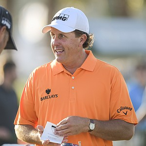 Phil Mickelson during the 2014 Players Championship at TPC Sawgrass.