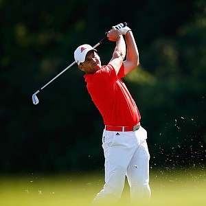 Sergio Garcia during the 2014 Players Championship at TPC Sawgrass.