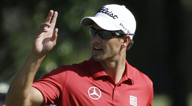 Adam Scott married in April 2014, according to reports that broke during the PGA Tour's 2014 Players Championship at TPC Sawgrass.