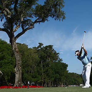 Bubba Watson during the second round of the 2014 Players Championship at TPC Sawgrass.